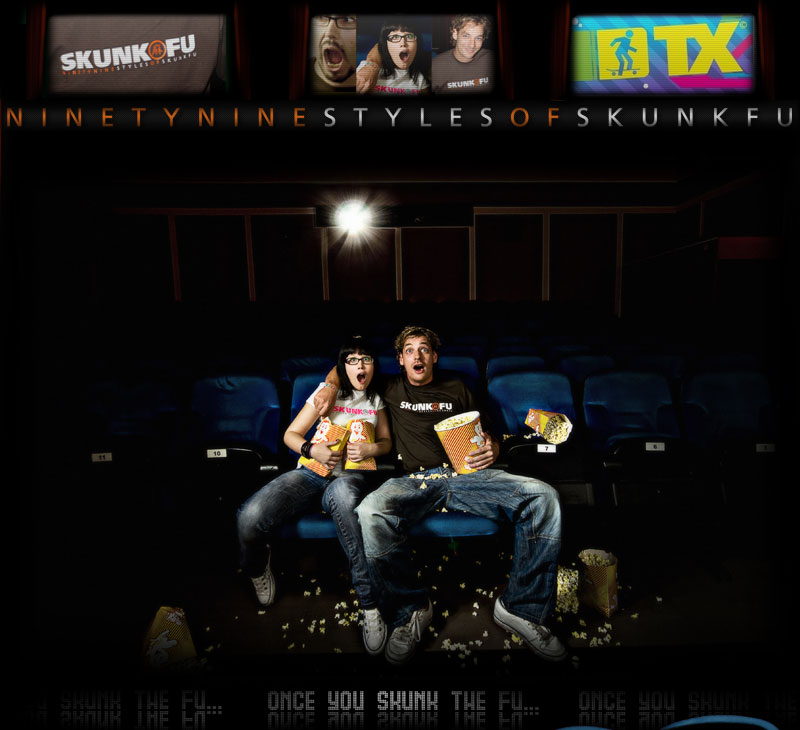 SKUNK FU 99Styles Movie - Cinema