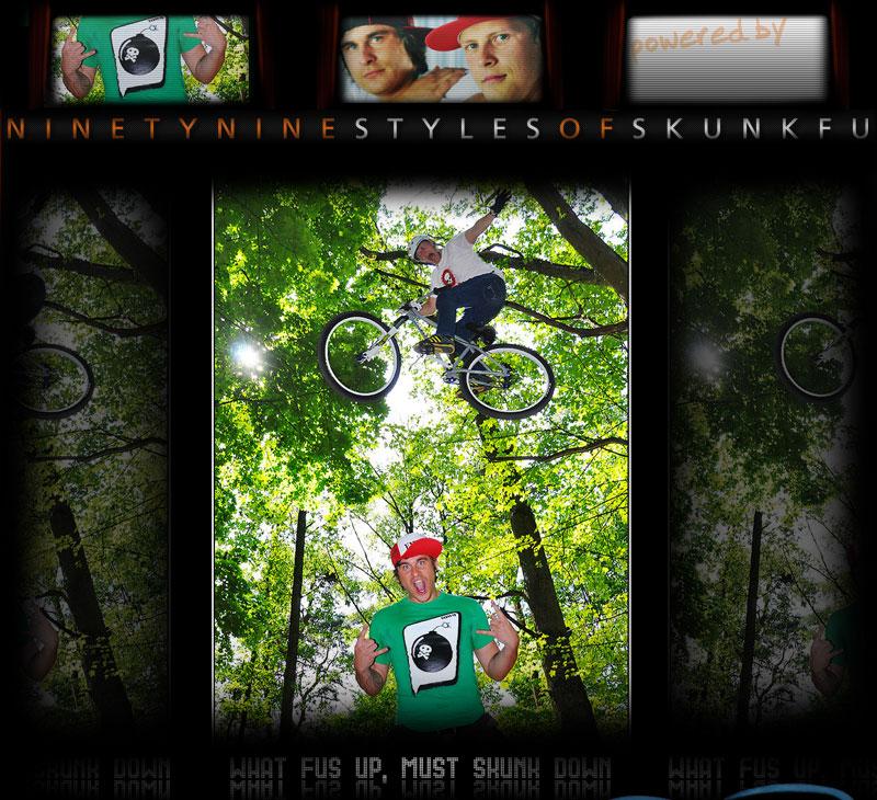 SKUNK FU 99Styles Movie - BMX Jump