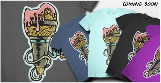 Fulicious Sound T-Shirts Preview